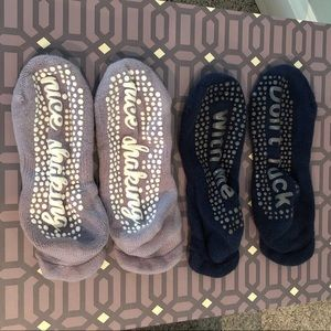 💜Barre Sock {bundle}💜 2 pairs barre Sticky Socks